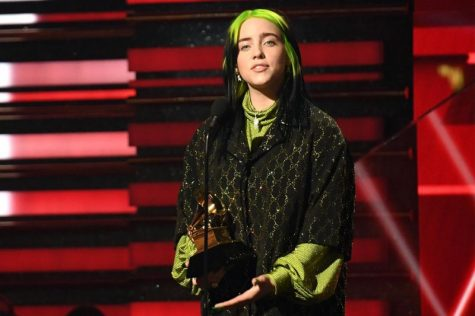 Billie Eilish makes history